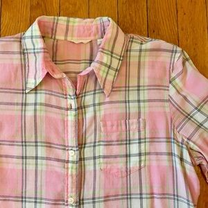 American Eagle Outfitters Tops - Vintage Plaid Button Down
